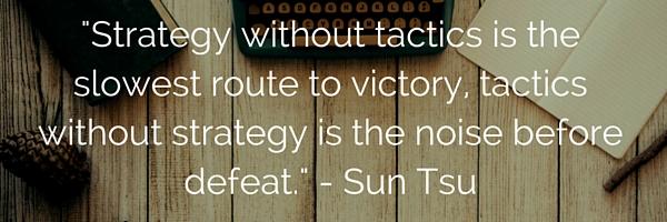 Sun Tsu quote