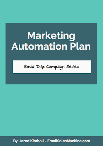 Cover of Marketing Automation Plan - Email Drip Campaign Series