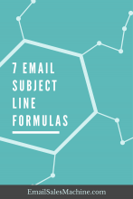 7 Email Subject Line Formulas